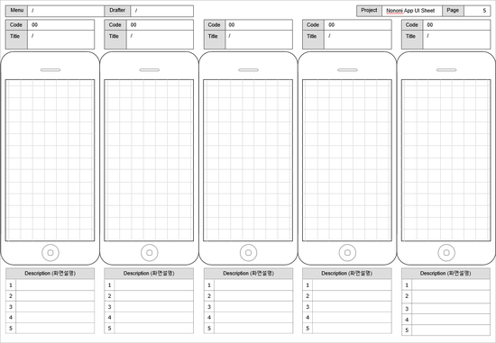 App storyboard template ui design pinterest for Storyboard template app