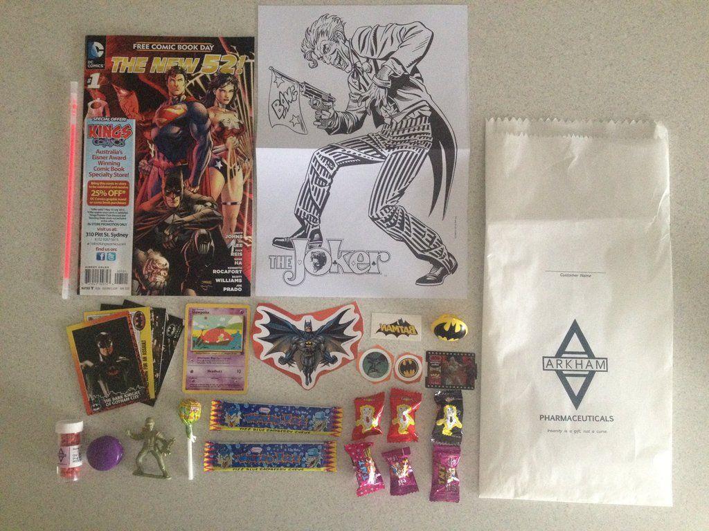 Party favor bags for a Batman - Arkham Asylum party.   Party Ideas ...