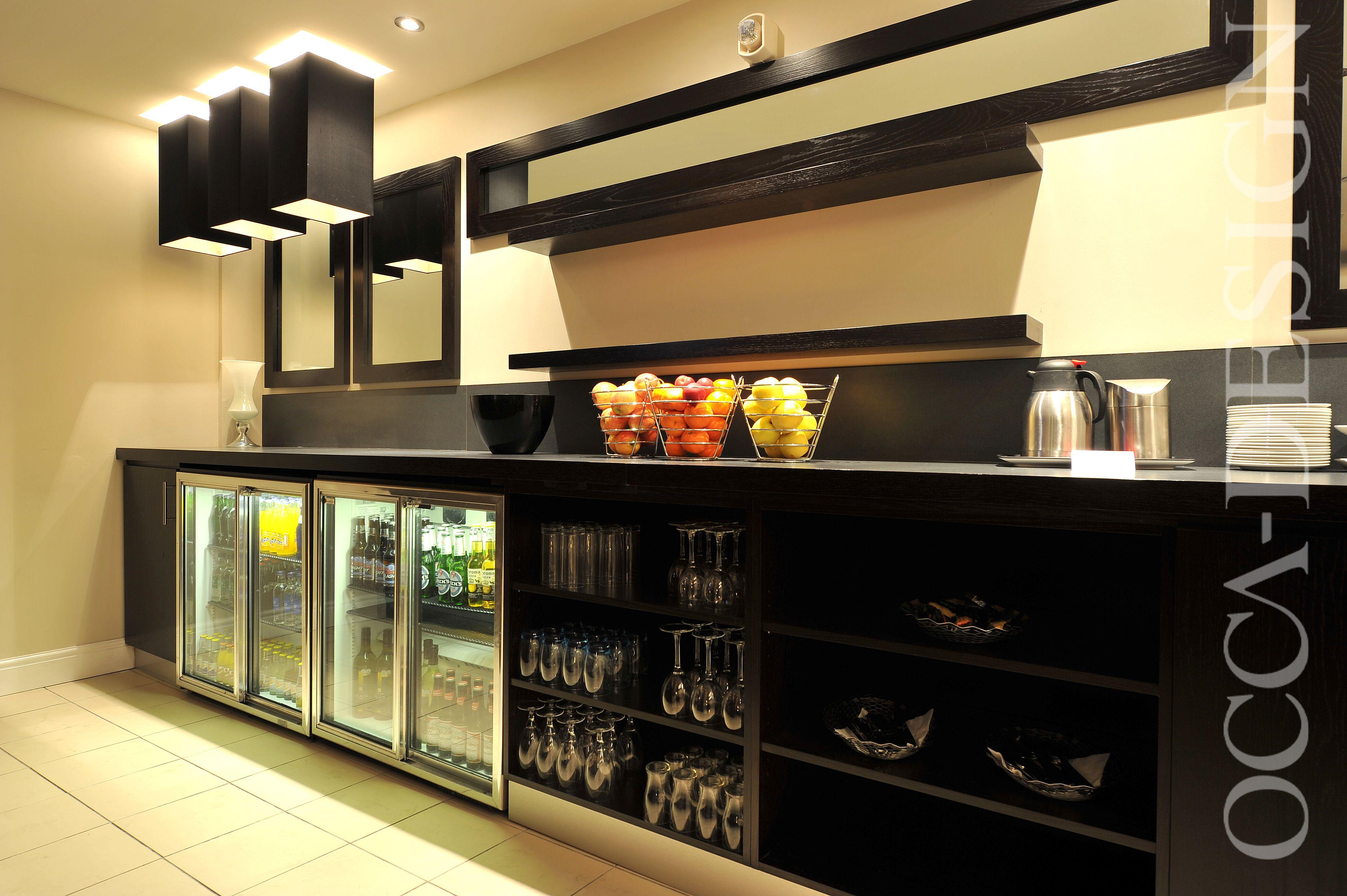 Hotel Interior Design Buffet Counter Neutral Interior Retail