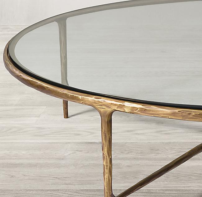 Thaddeus Glass Round Coffee Table Round Coffee Table Round Glass Coffee Table Table
