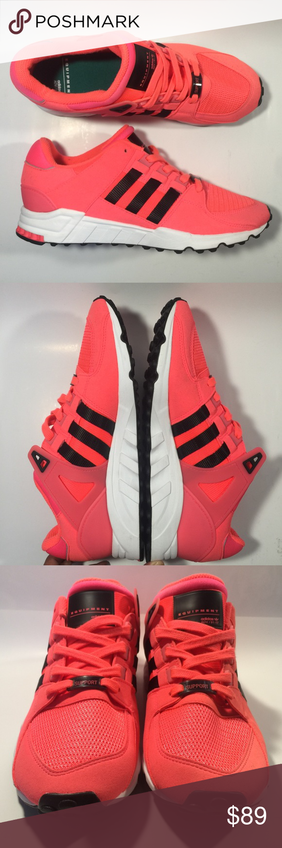 c1aec5af0bfa NWT Adidas originals eqt support Mens 9.5 Brand new (no box) never worn  turbo core black mens size 9.5 art code BB1321 adidas Shoes Sneakers
