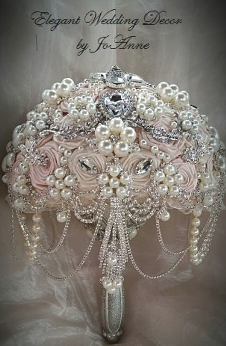 20++ Pink wedding bouquet bling information