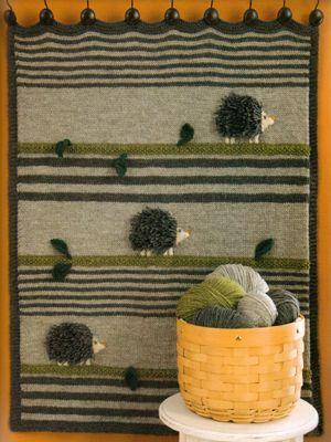 35 Porcupine Blanket