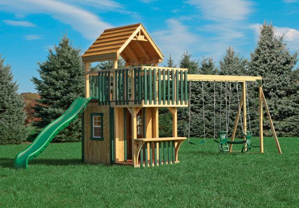 Wood Yard Kids Play Projects | Conestoga PGTC XL3 | Wood Childrenu0027s Outdoor  Playset (