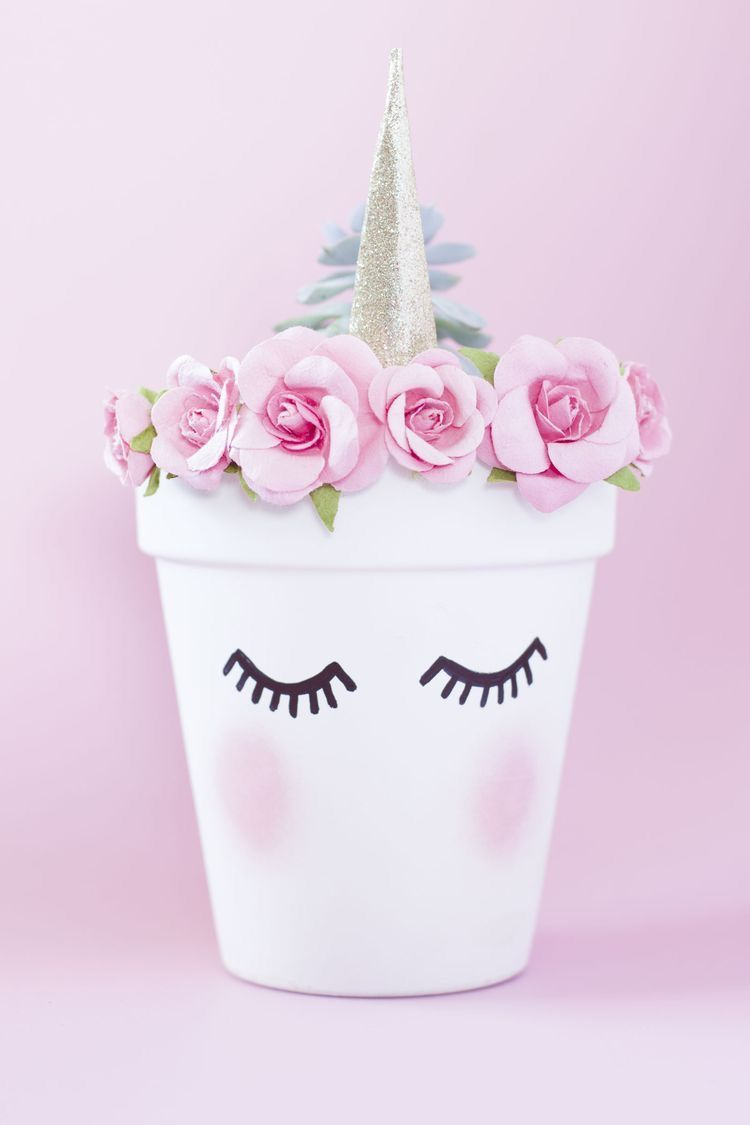 Unicorn Flower Pot | Unicorn!!!!! | Pinterest | Unicorns, Flower and ...