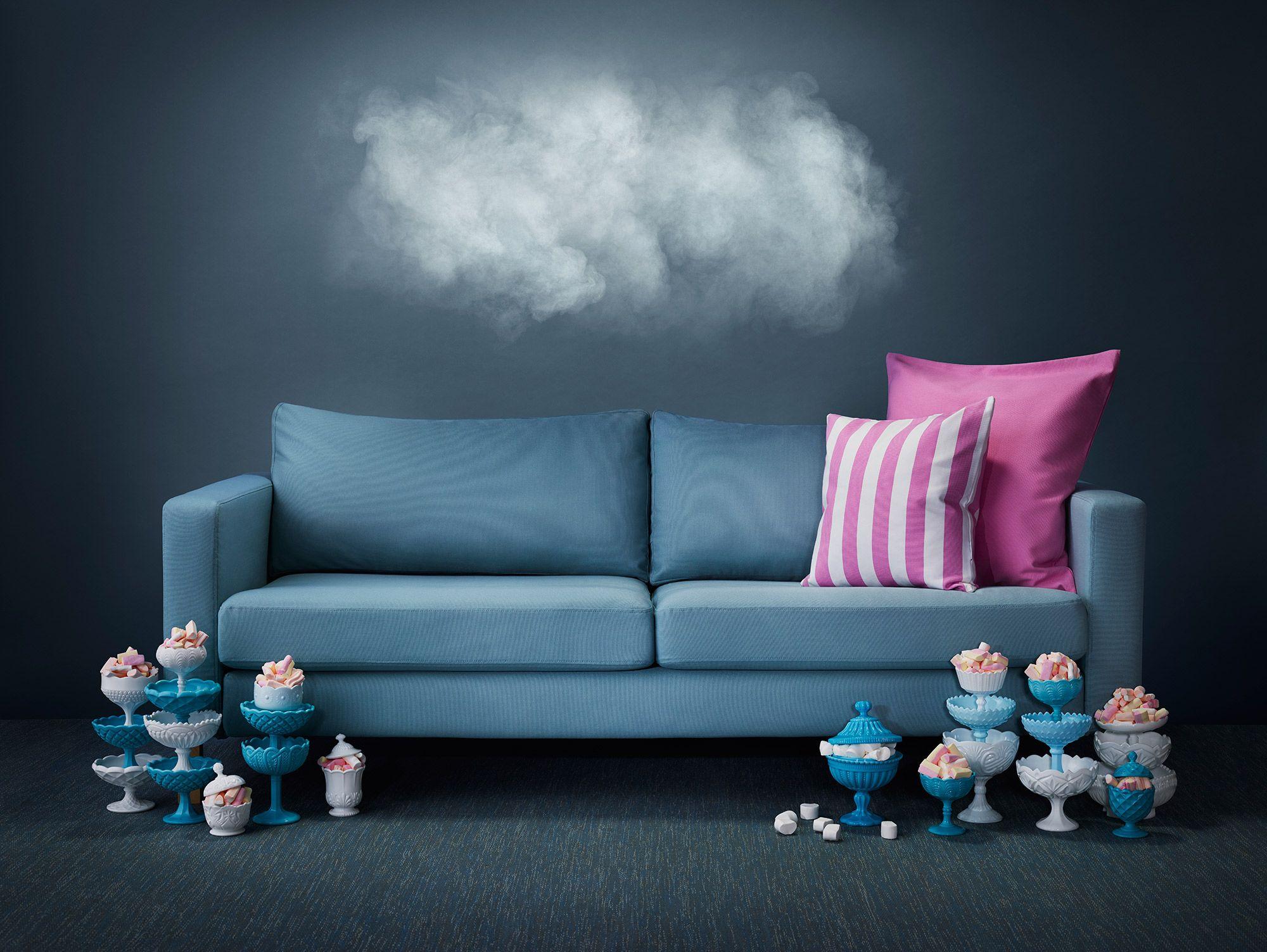 Sofa Pillows Karlstad Seater sofa cover