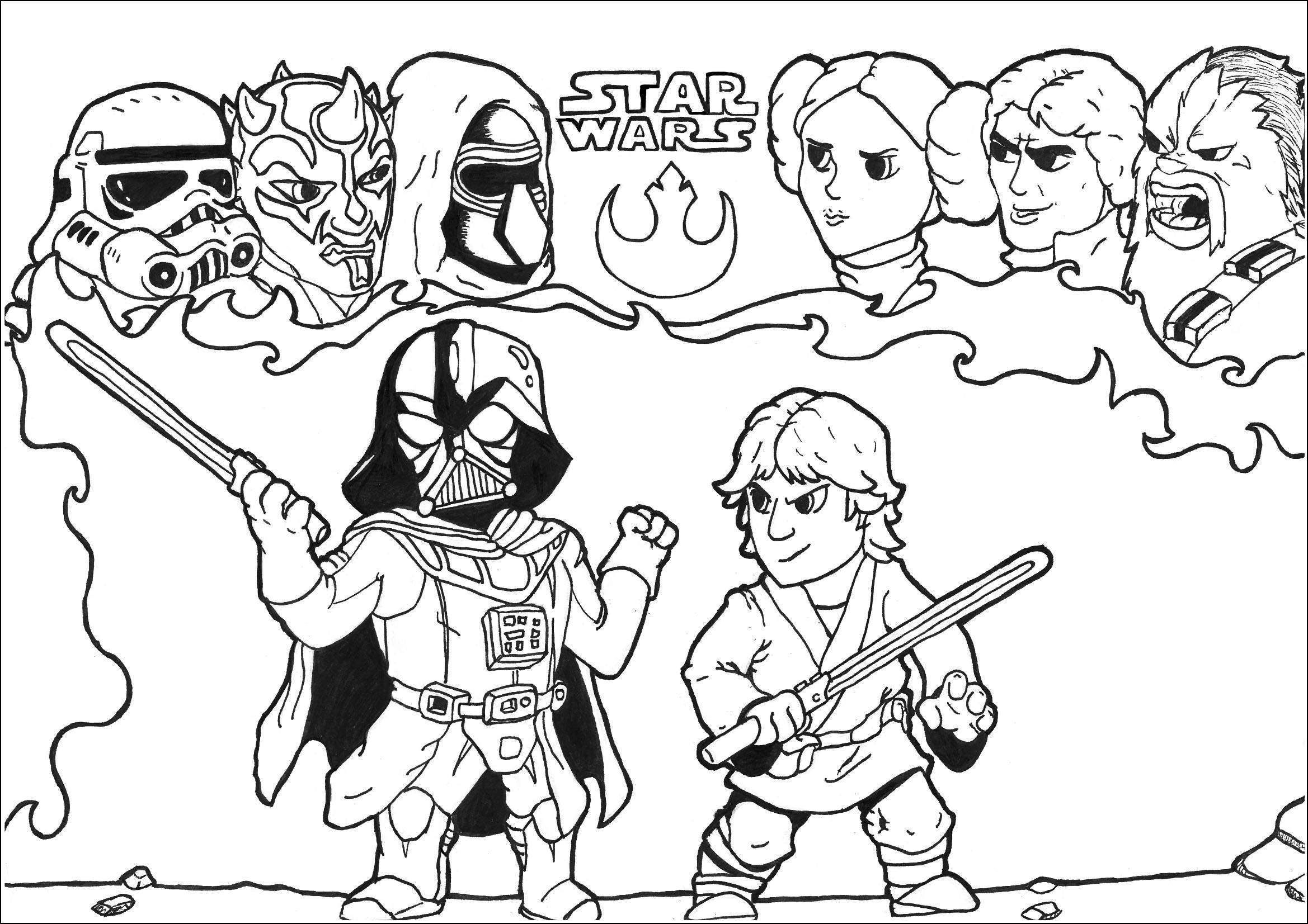 Free Star Wars Lego Free Coloring Pages, Download Free Clip Art, Free Clip  Art on Clipart Library | 1653x2338