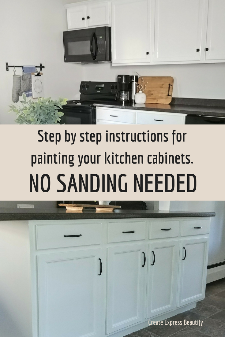 Paint Your Kitchen Cabinets No Sanding Needed Kitchen Cabinet Remodel New Kitchen Cabinets Refacing Kitchen Cabinets