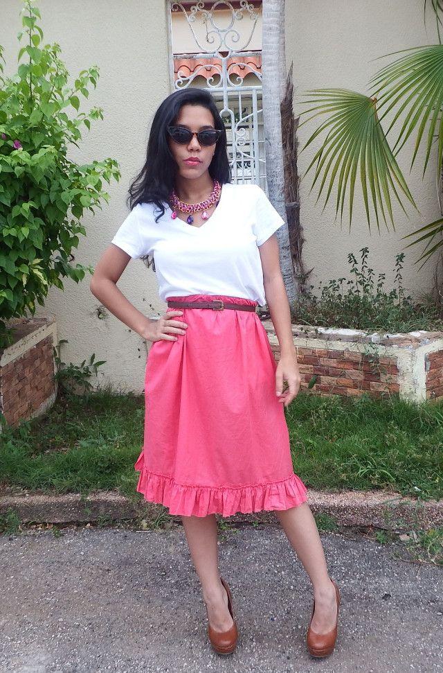 How to wear a dress as a skirt/ LadyLike Style