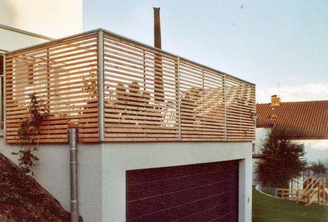 Balkongelander Stahl Holz Sh 1 Knor Treppen Garten