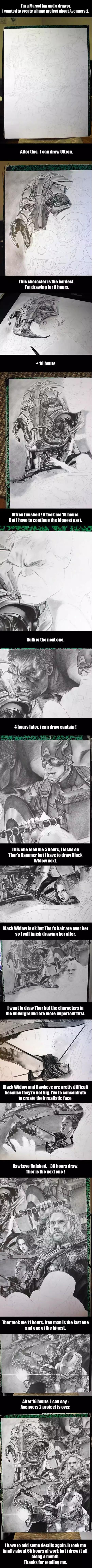 Impressive Avengers Illustration http://ibeebz.com