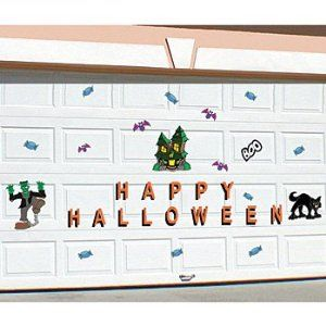 Garage Door Decorative Magnets Decor Holiday Decor Spooky Halloween