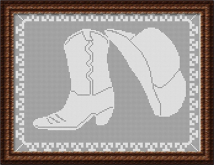 crochet pattern filet cowboy boots - Google zoeken | Punto en cruz ...