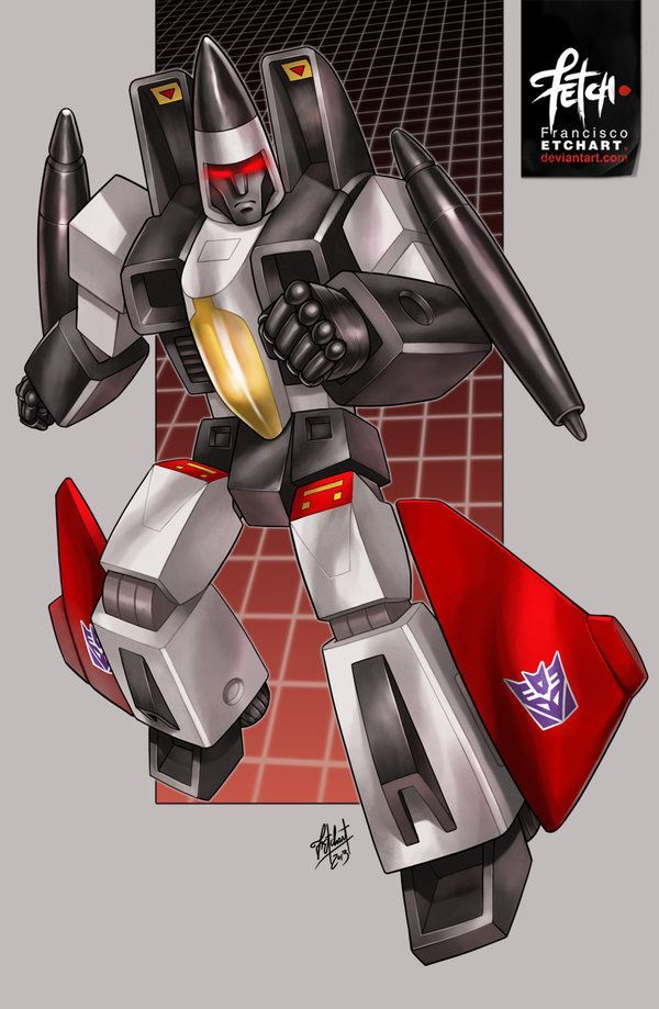 decepticon ramjet g1 by franciscoetchart on deviantart made for