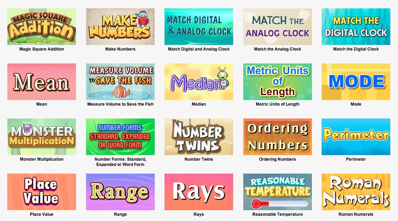 Turtle Diary.com Math Games http://www.turtlediary.com/grade-3-games ...
