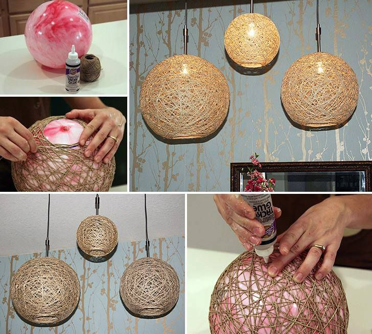 Hemp Twine Ball Lamp Design Pinterest Twine Craft And Crafty