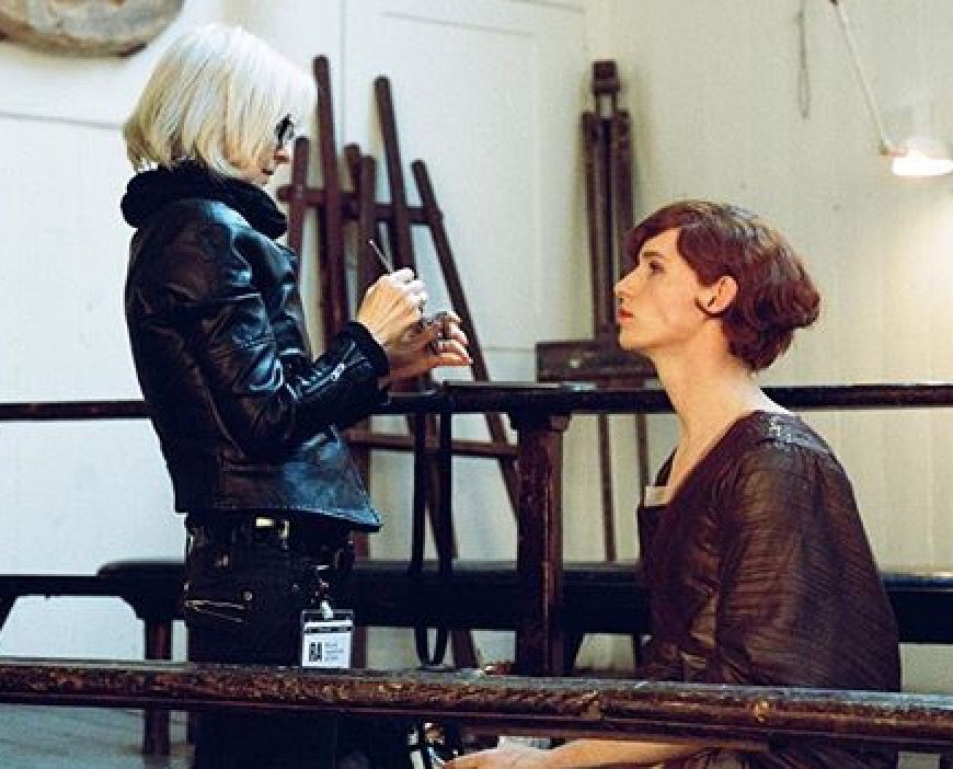 "bespokeredmayne: ""A true artist is acknowledgedCongratulations to the brilliant makeup artist Jan Sewell – who transformed Eddie Redmayne into Stephen Hawking and Lili Elbe – on being honored today with membership in The Academy of Motion Picture..."