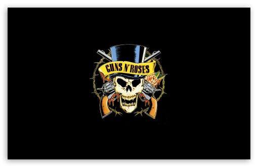 Guns 'n' Roses Logo (HD) wallpaper
