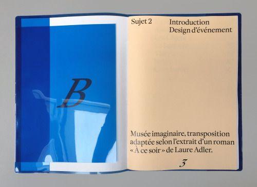 "designeverywhere: "" À ce soir, Musée Imaginaire """