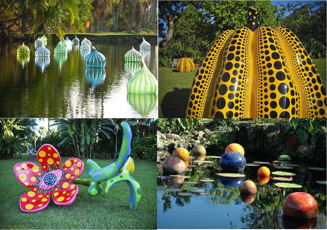 Fairchild tropical gardens lush landscape