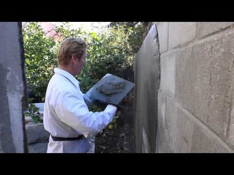 Stucco Thickness On Cinder Block Or Cmu Walls Cinder Block Walls Wall Exterior Cinder Block