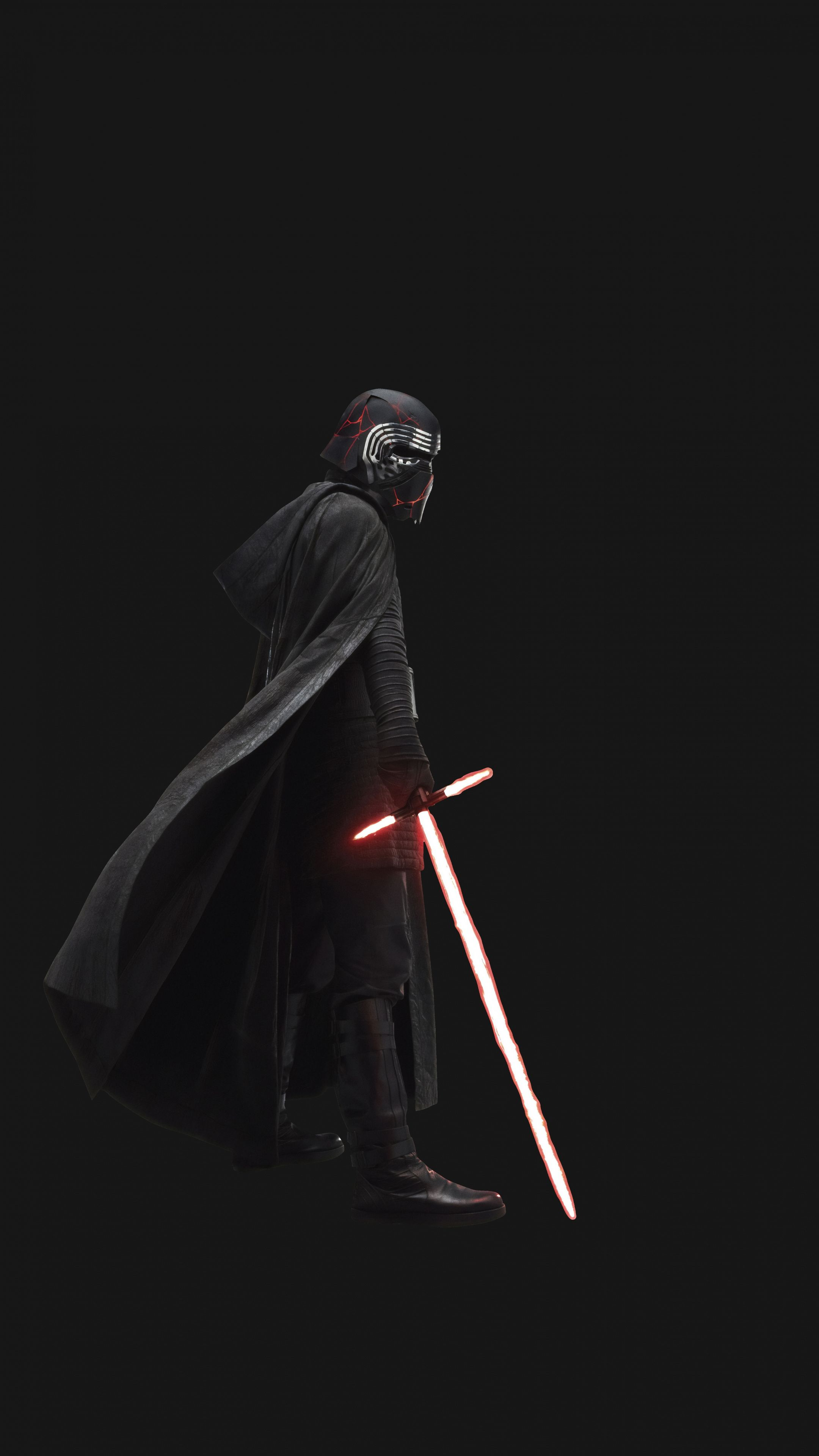 2160x3840 Star Wars The Rise Of Skywalker Villain Kylo Ren Wallpaper Star Wars Background Ren Star Wars Star Wars Pictures