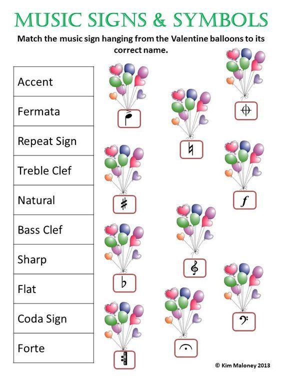 Music Fun Worksheets Worksheets Piano Teacher Pinterest Fun