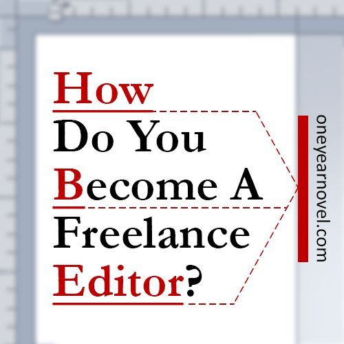 If you want to be a freelance editor, what exactly do you do? Author and editor C. S. Lakin breaks it down.