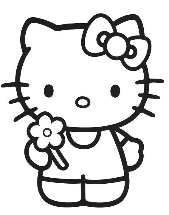 dibujos de hello kitty para colorear | Hello kitty | Hello kitty