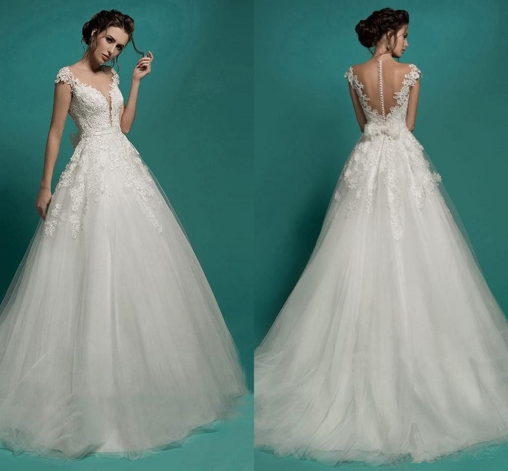 Vintage Ball Gown Princess Lace Wedding Dresses 2016 New Sexy ...
