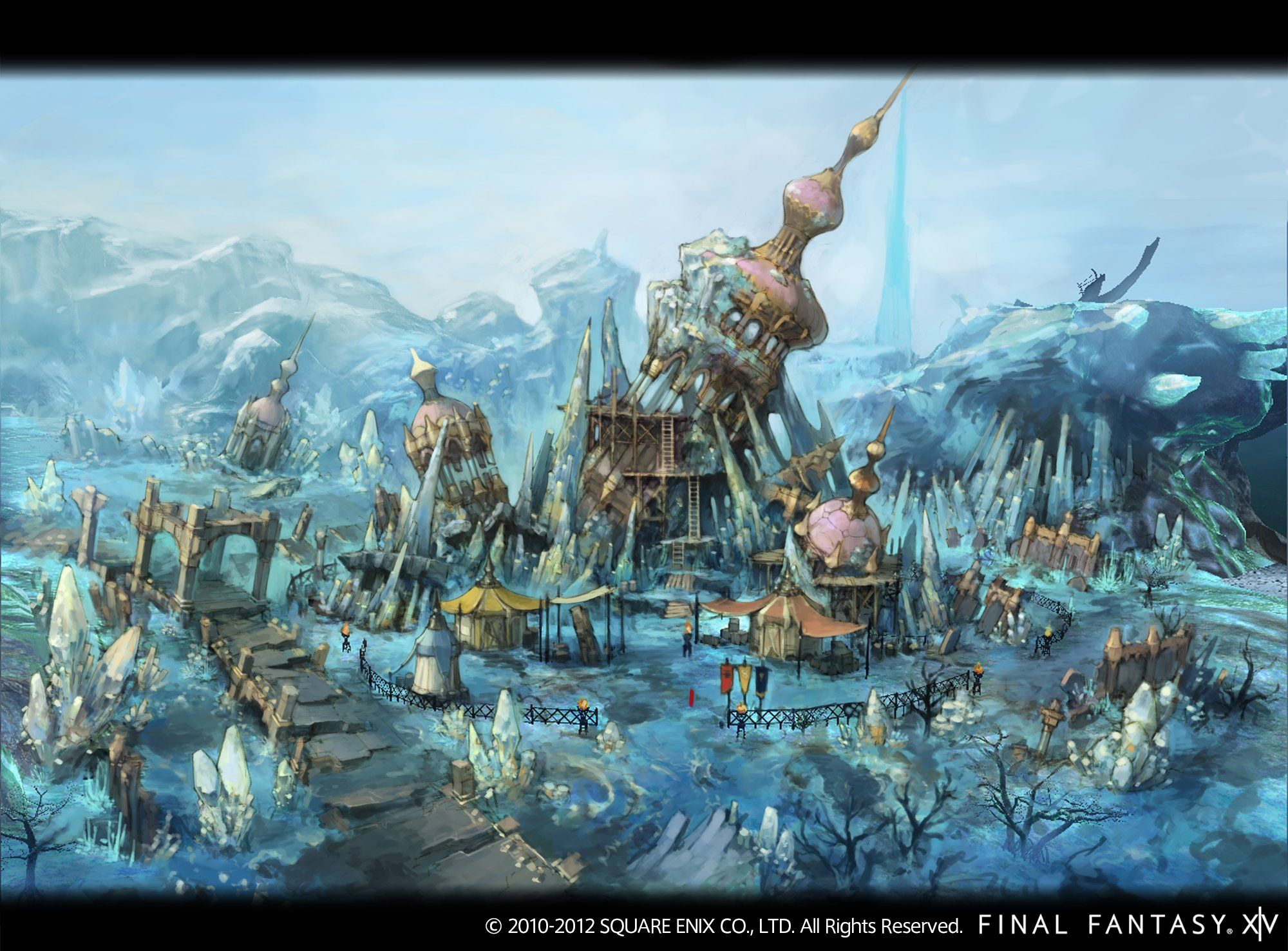 Mor Dhona Ffxiv Fantasy Landscape Environment Concept Art Final Fantasy Xiv