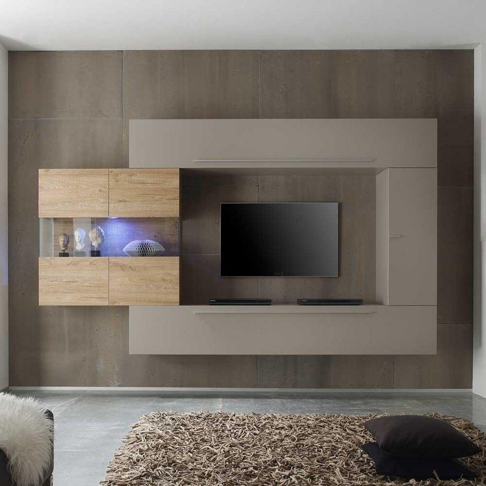 Perfekt Inspiration Wohnwand Modern Hängend