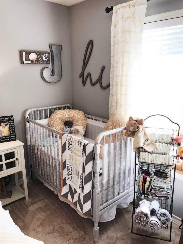 Farmhouse Styled Nursery/Guest Room Combo | Nursery ...