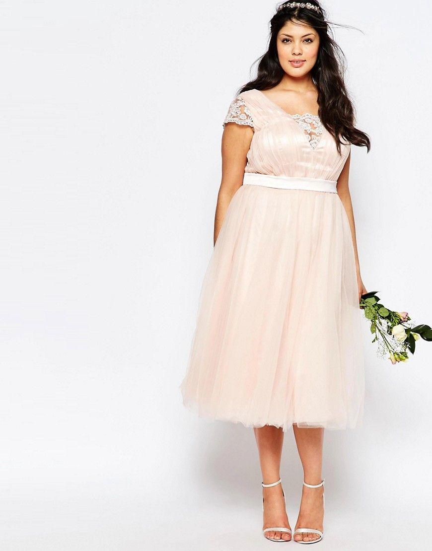Image 4 of chi chi london plus midi dress with tulle skirt plus shop chi chi london plus midi dress with tulle skirt at asos ombrellifo Choice Image