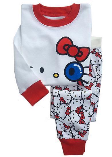 6ae4c5cd0 Buy Hello Kitty Sleepwear Pajamas at worldofhellokitty.com! Free shipping  to 185 countries. 45 days money back guarantee.