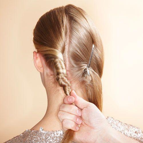Lange haare schon hochstecken