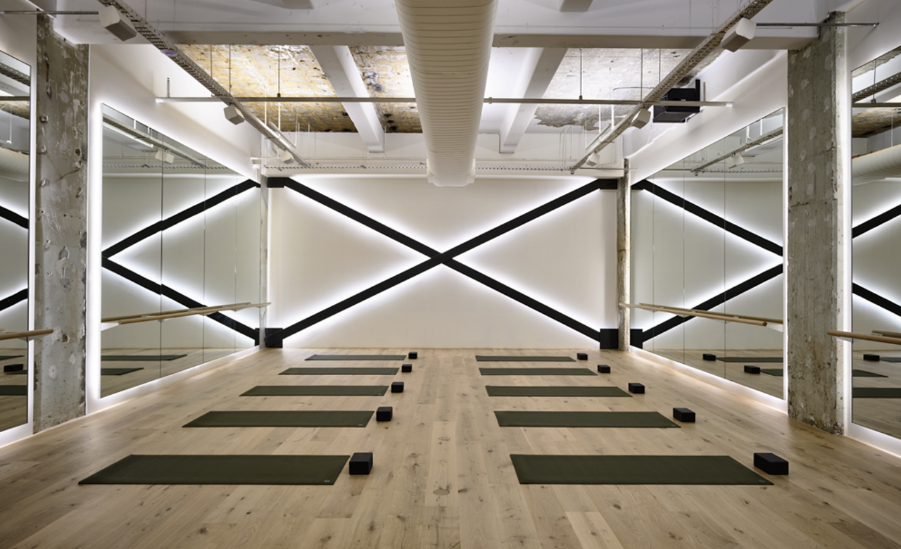 Melbourne S New Luxury Wellness Centre Has A Yoga Studio A Library And A Restaurant Gym Design Interior Fitness Center Design Yoga Studio Design
