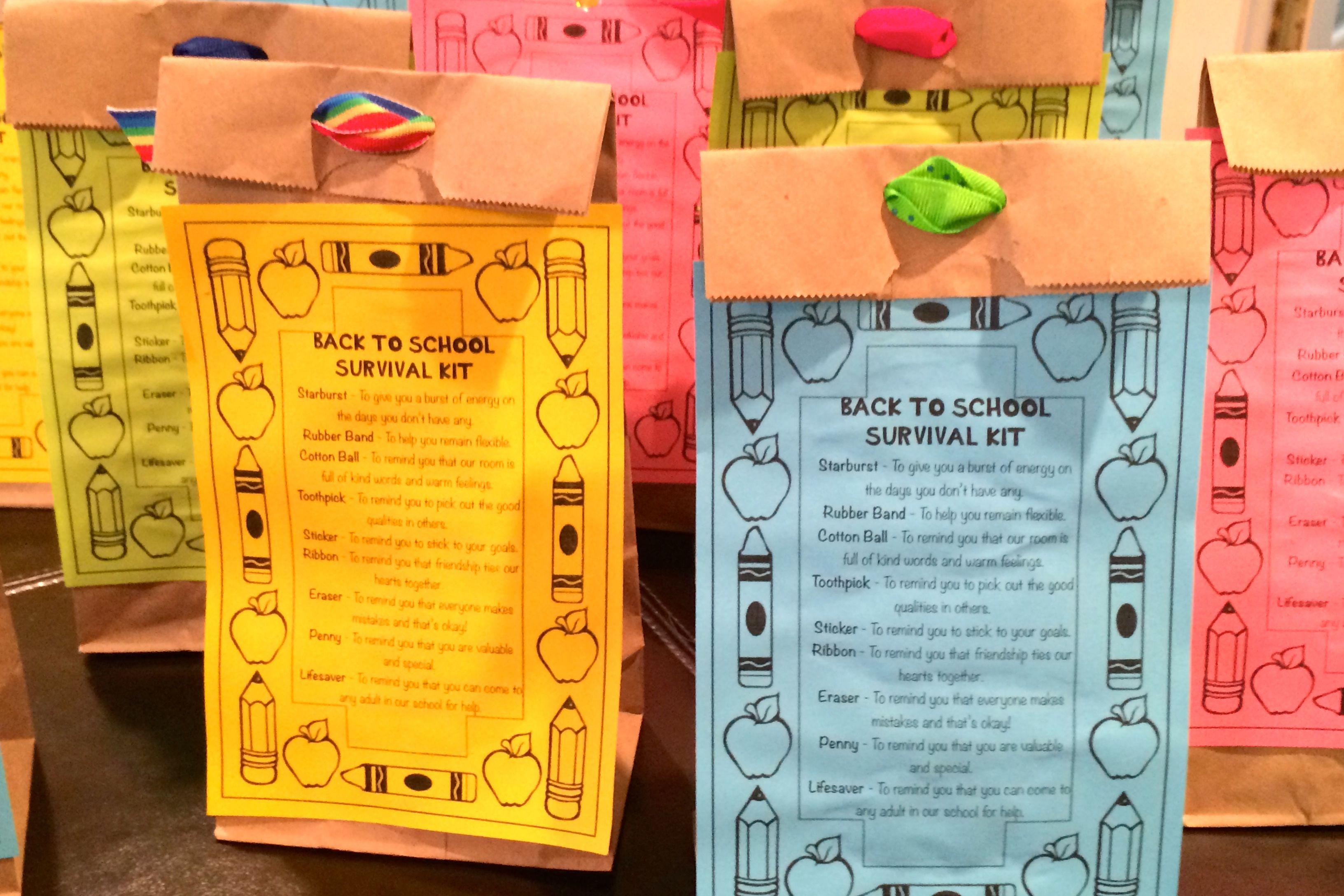 Third Grade Survival Kits