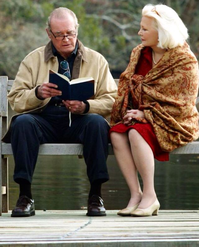 The Notebook starring James Garner as Noah Calhoun & Gena ...