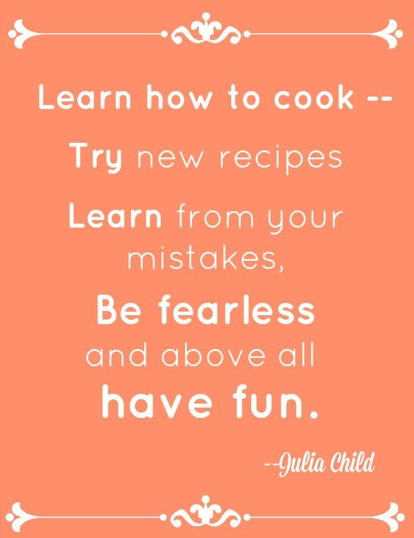 French dessert recipes inspired by julia child child for Julia child cooking school