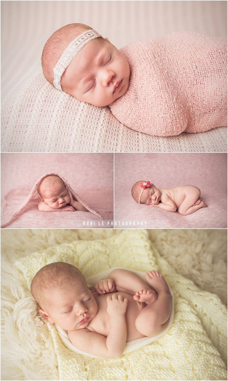 Tampa newborn baby photographer nghi le