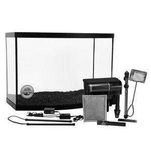 Marineland® 38 Gallon Aquarium Starter Kit at PetSmart. Shop all fish starter kits online  sc 1 st  Pinterest & $179.99 - 38 gallon bow front glass aquarium with Penguin BIO ...