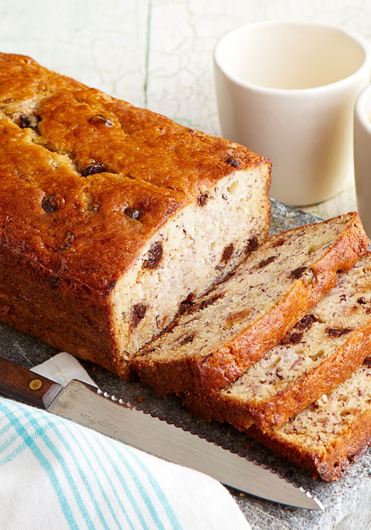 Pan De Platano Con Chispas De Chocolate Quieres Aprovechar El Punto Perf Chocolate Chip Banana Bread Banana Chocolate Chip Chocolate Chip Banana Bread Recipe