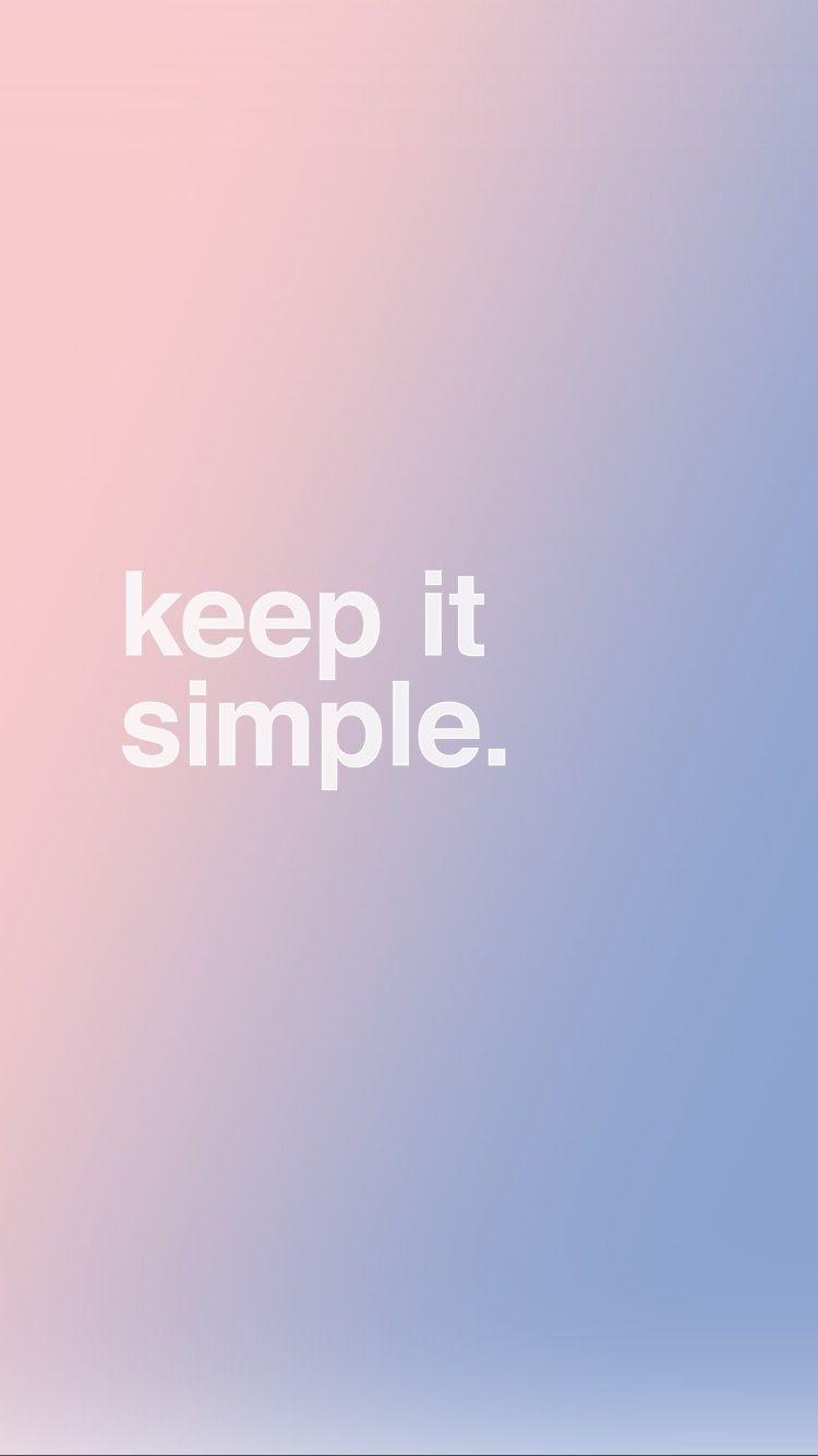 Iphone Wallpaper Serenity Rose Quartz Pantone 2016 Keep It Simple Simple Iphone Wallpaper Simple Wallpapers Iphone Wallpaper