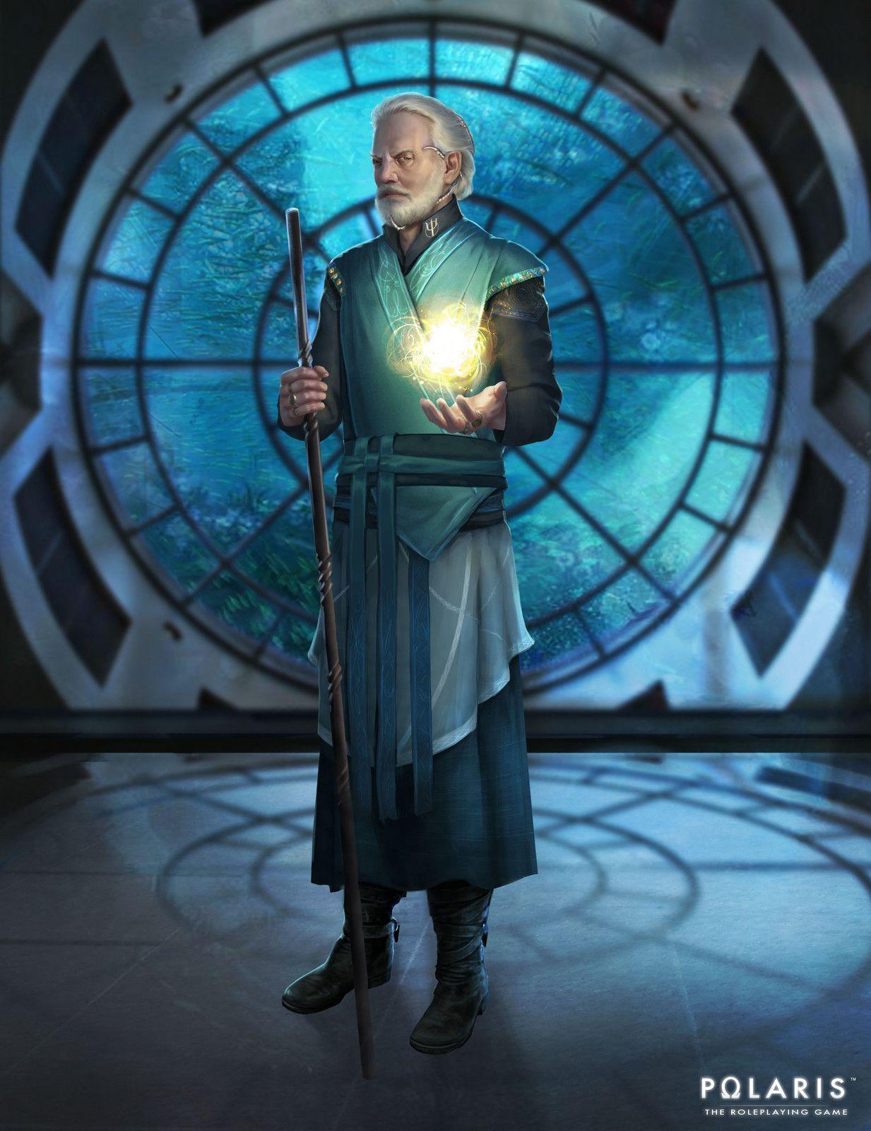 Priest of the Trident, stephanie böhm on ArtStation at https://www.artstation.com/artwork/xqm0O