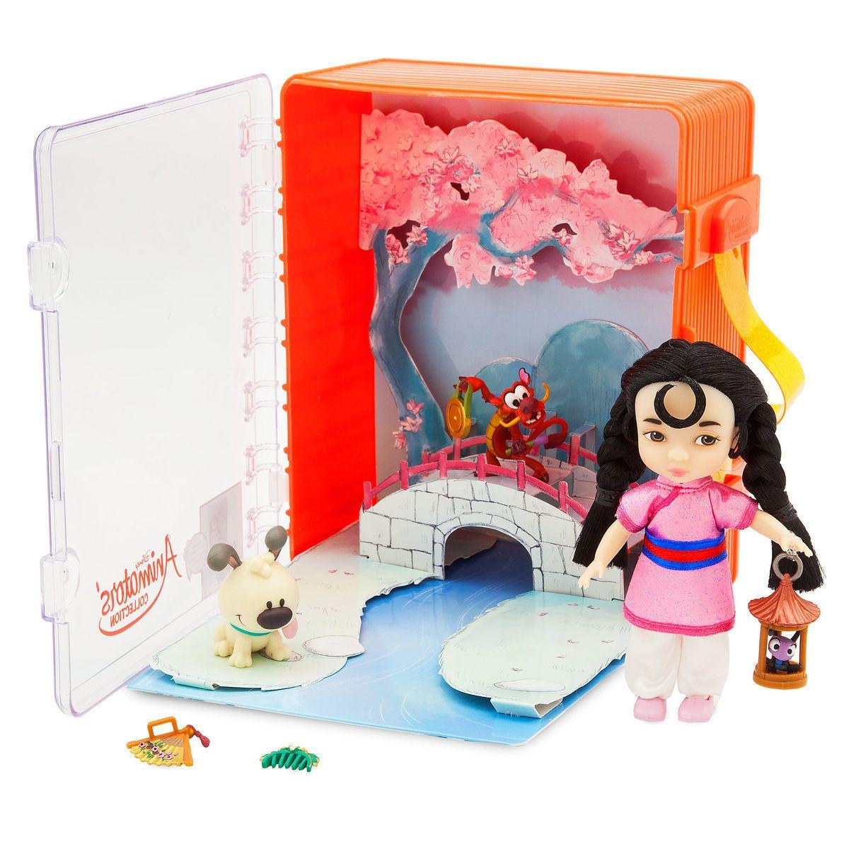 Disney Parks Store Animators/' Collection Mini Doll Play Set Elsa Frozen NEW