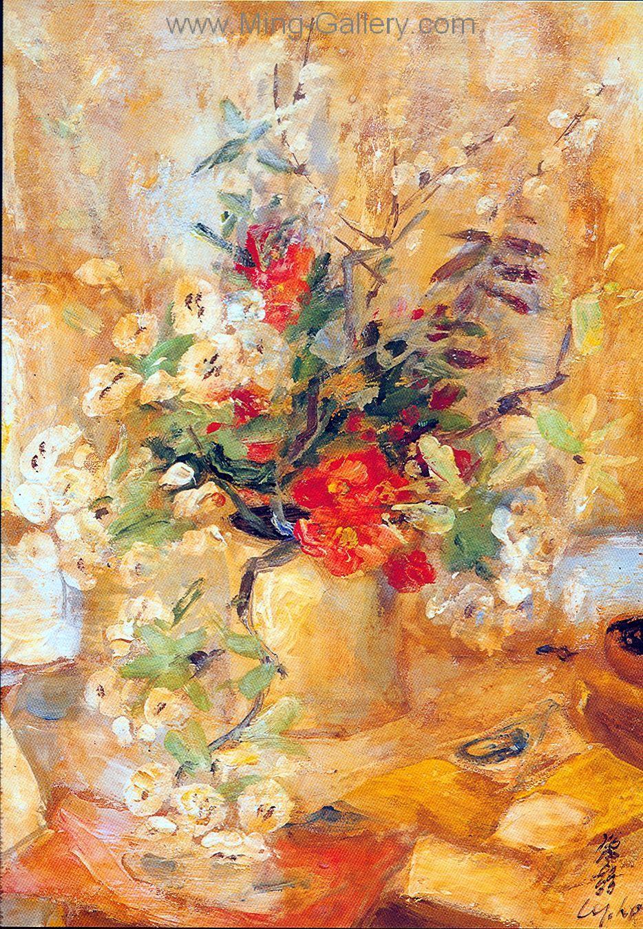 Vnl0013 Le Pho Vietnamese Art Painting Impressionist Paintings Art