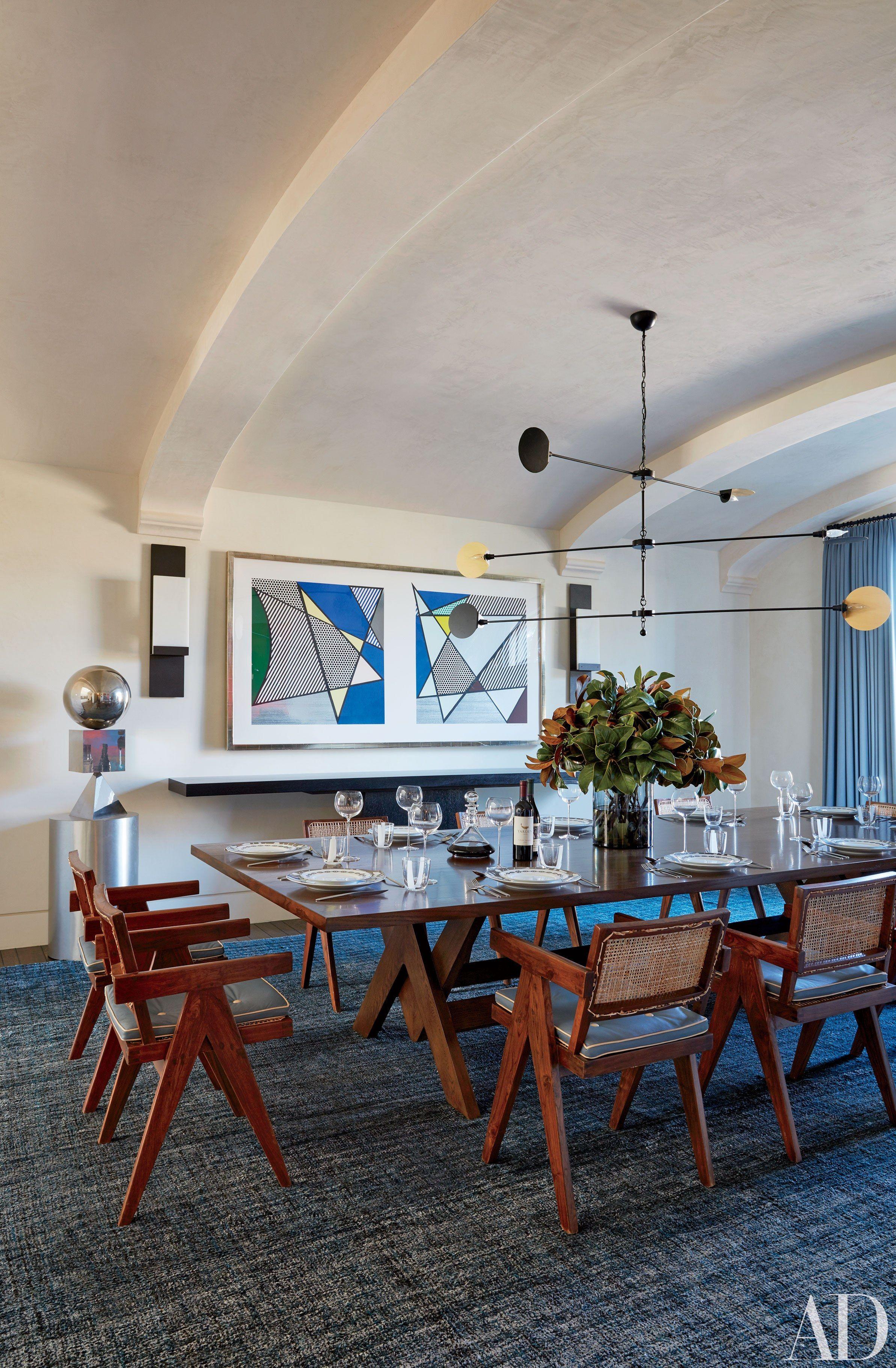 Celebrity Dining Rooms Gisele Bndchen Tom Brady