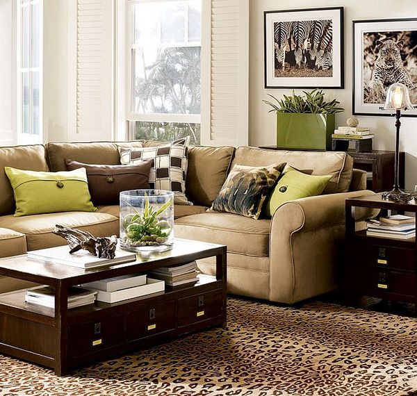 28 Green And Brown Decoration Ideas Brown And Green Living Room Green Living Room Decor Living Room Green