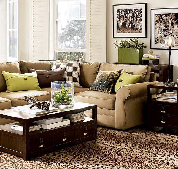 Marvellous Tan Brown Living Room Ideas